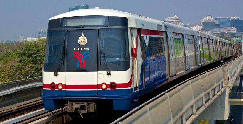 Подвесная железная дорога Бангкока (BTS Скайтрейн)