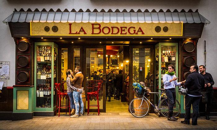 Бар «La Bodega» в Севилье
