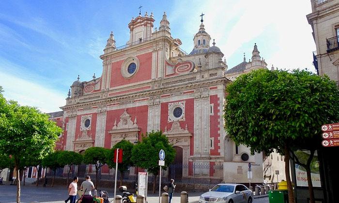 Церковь Сальвадора в Севилье