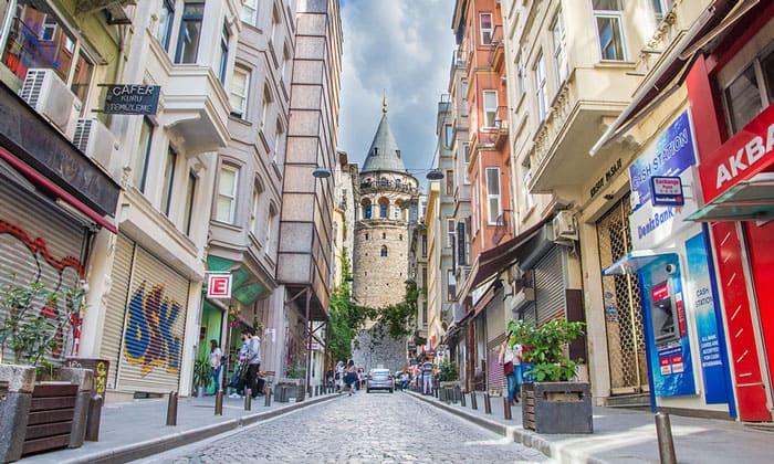 Древняя Галатская башня Стамбула