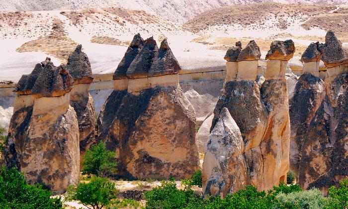 Дымоходы Каппадокии