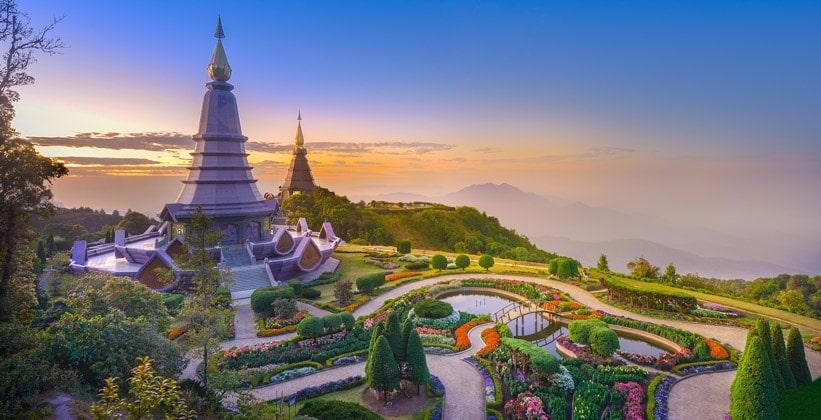 Гора Doi Inthanon (Северный Таиланд)