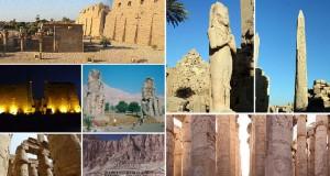Город Луксор в Египте