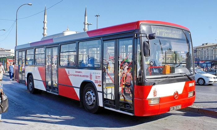 Городской автобус Стамбула
