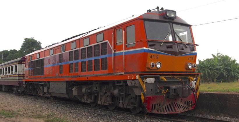 Междугородние поезда Таиланда