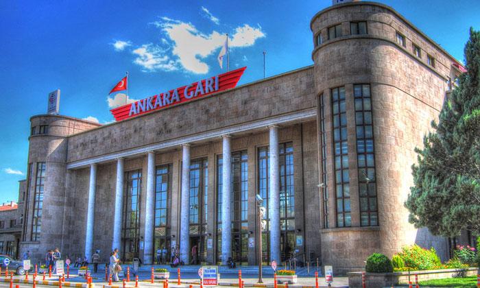Железнодорожный вокзал в Анкаре