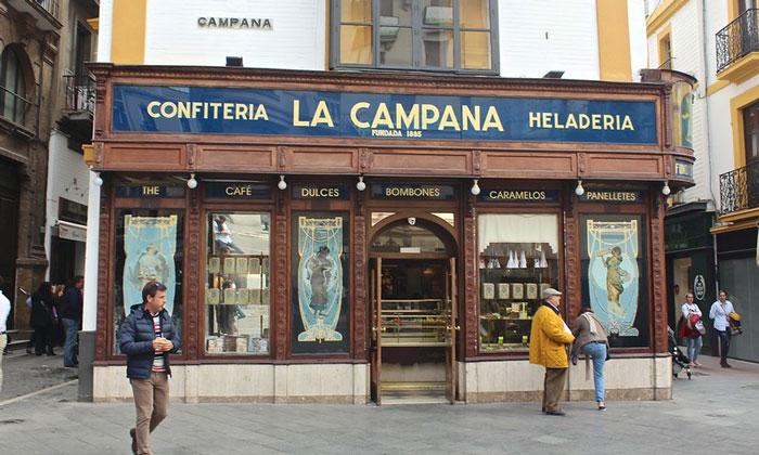 Кондитерская «La Campana» в Севилье