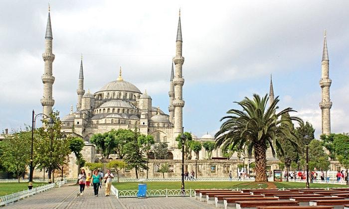 Красоты Голубой мечети Стамбула