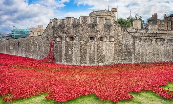 Кровавая башня Тауэра в Лондоне