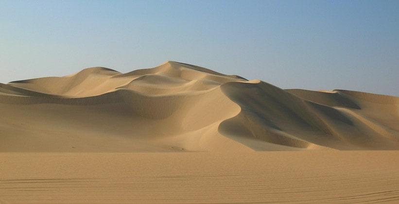 Ливийская пустыня (часть пустыни Сахара)