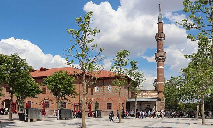Мечеть Хаджи-Байрам в Анкаре