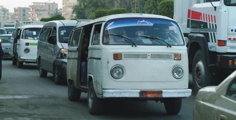 Маршрутное такси Египта