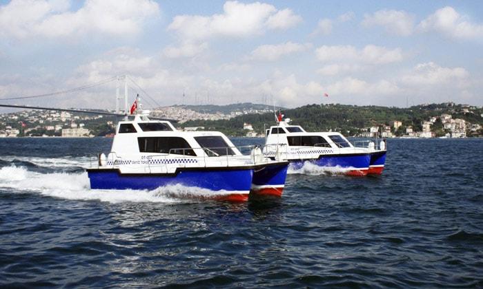 Морские такси Стамбула