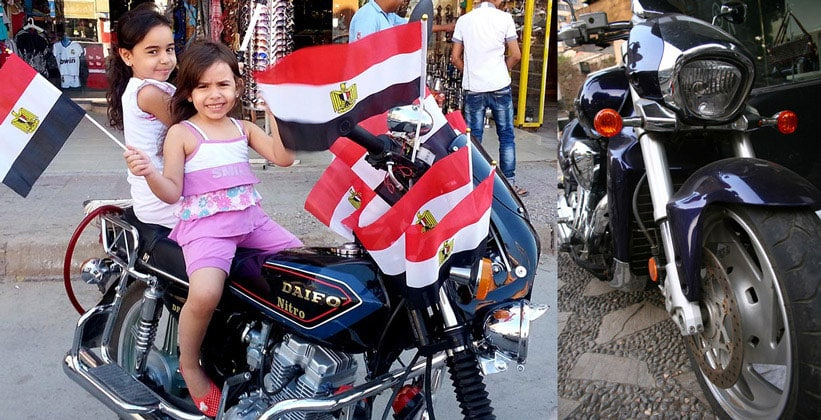 На мотоцикле по Египту
