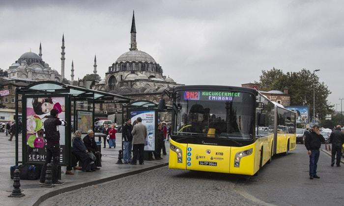 Муниципальный автобус Стамбула