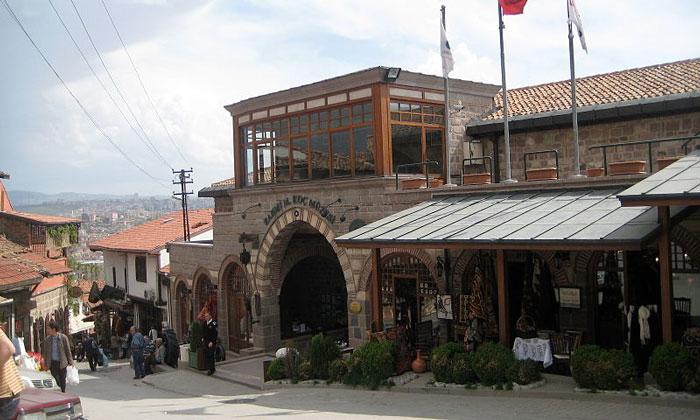 Музей-ресторан «Cengelhan» в Анкаре