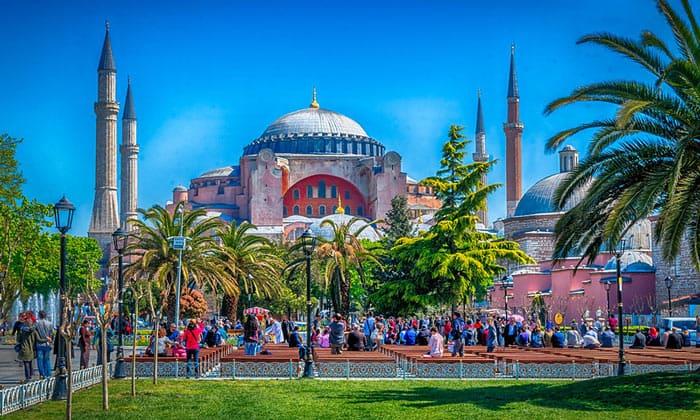 Неповторимая Айя-София в Стамбуле