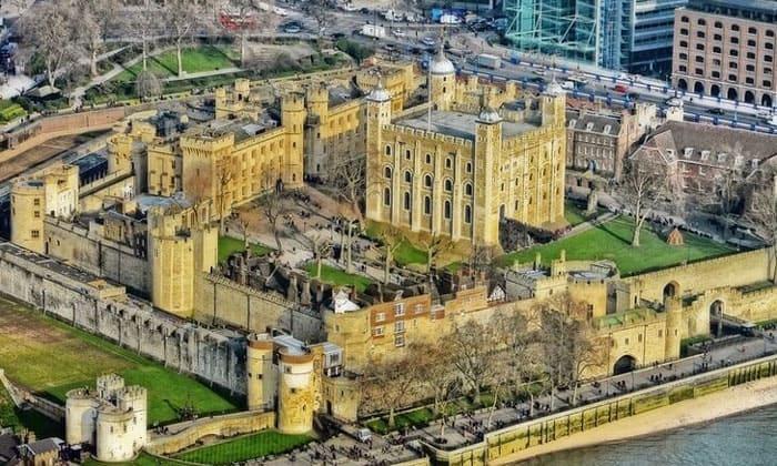 Панорама Тауэра в Лондоне