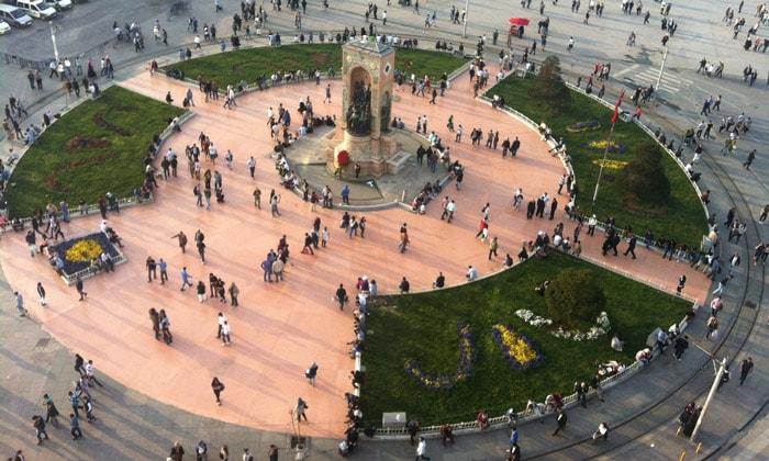 Площадь Таксим Стамбула