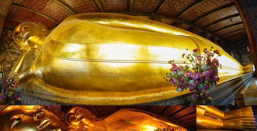 Статуя Лежащего Будды (Храм Ват Пхо)