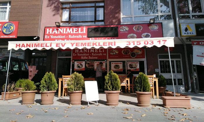 Ресторан «Hanımeli Ev Yemekleri» в Анкаре