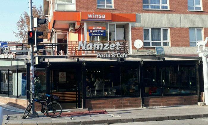 Ресторан-кафе «Namzet» в Анкаре