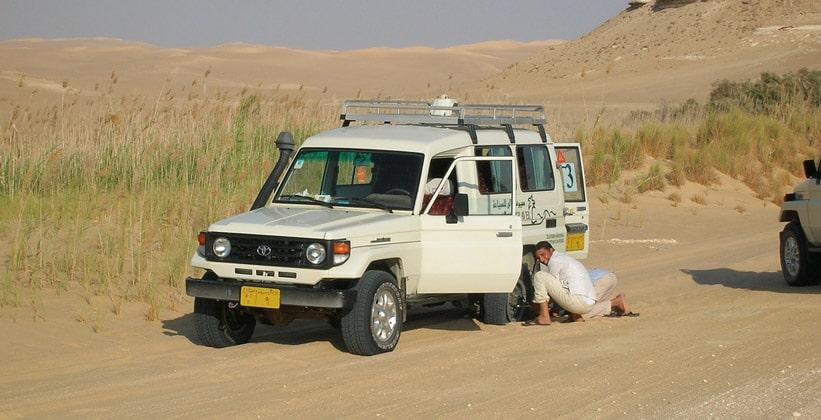 Сафари по Ливийской пустыне