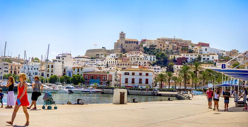 Испанский остров Ибица
