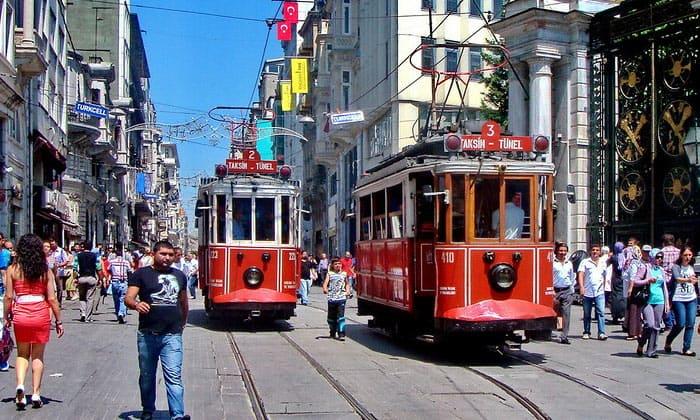 Стамбульские трамваи (Европа)