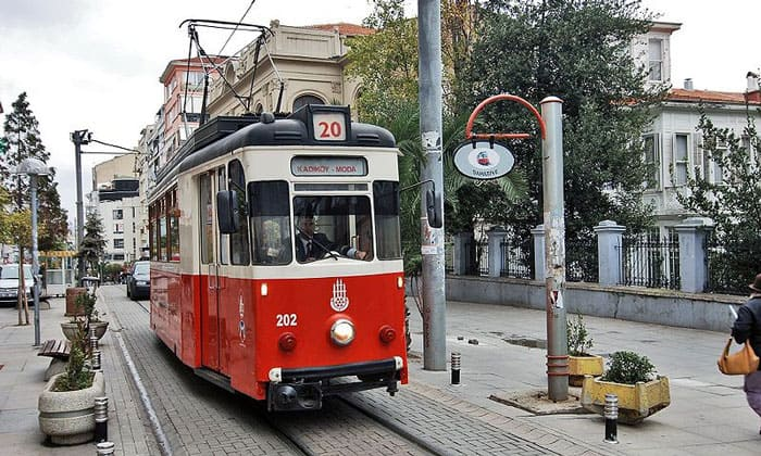Стамбульский трамвай (Азия)