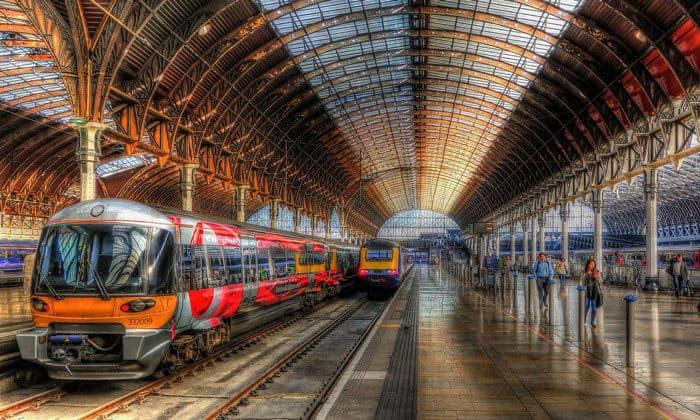 Лондонский вокзал Паддингтон