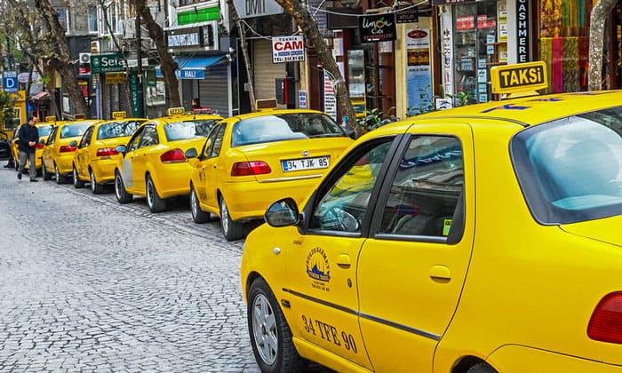 Стамбульские такси