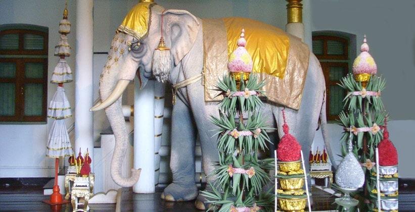 Королевский слон Национального музея