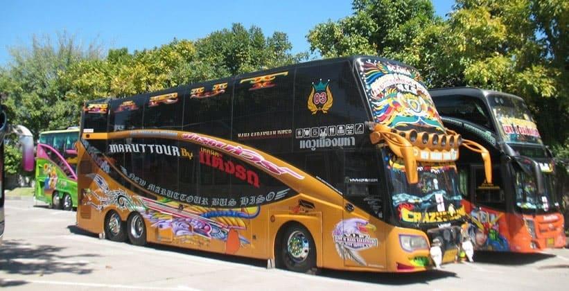 Туристические автобусы Чианг-Мая