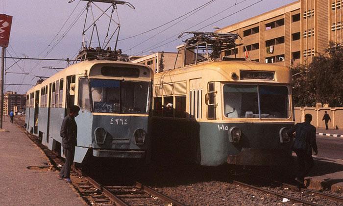 Трамваи Каира