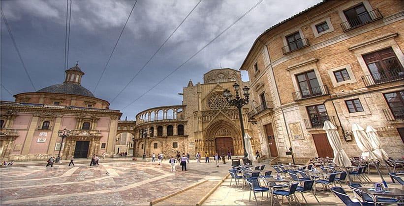 Старый город в Валенсии