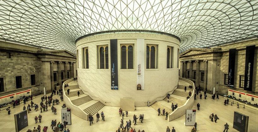 Внутри Британского музея