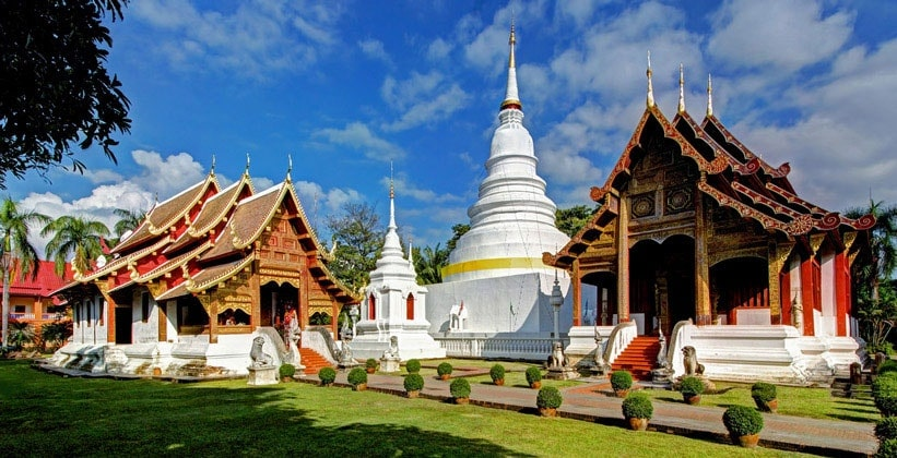 Буддийский храм Wat Phra Singh в Чиангмае