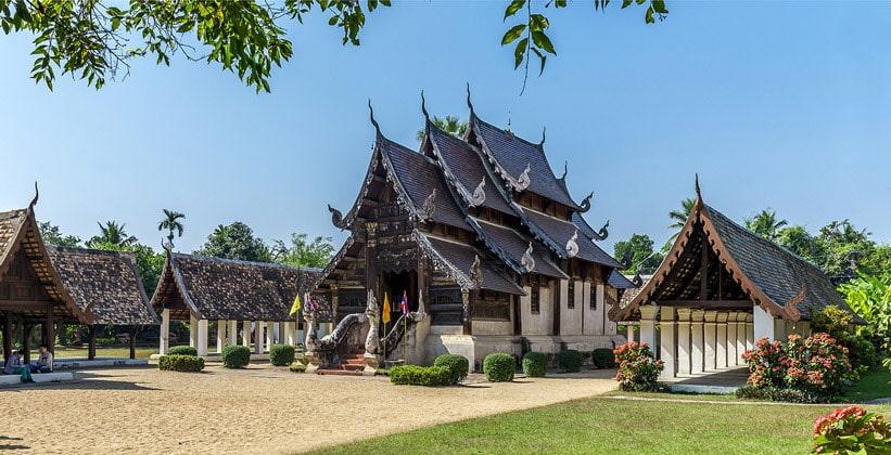 Северный Таиланд (Wat Ton Kwaen)