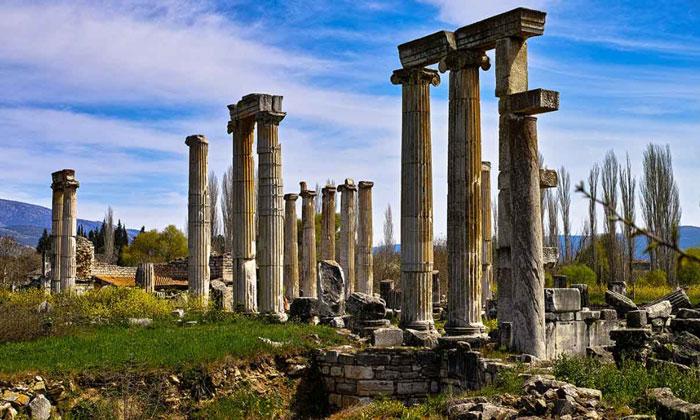 Руины античной Афродисии