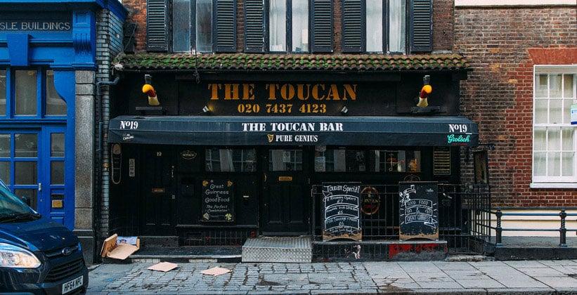 Бар The Toucan в Лондоне