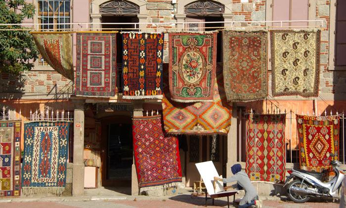 Бергамские ковры