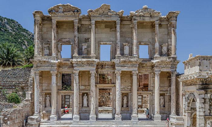 Библиотека Цельса (Эфес) в Турции