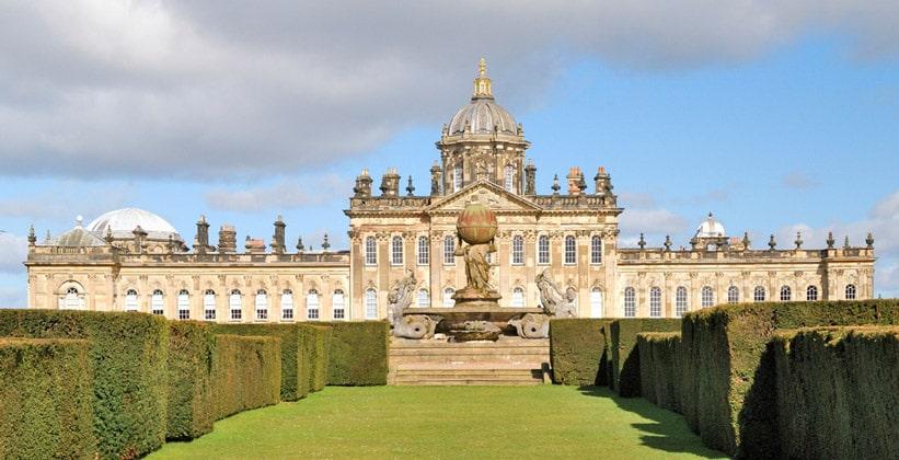 Замок Касл-Ховард в Англии
