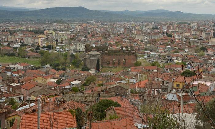 Город Бергама в Турции