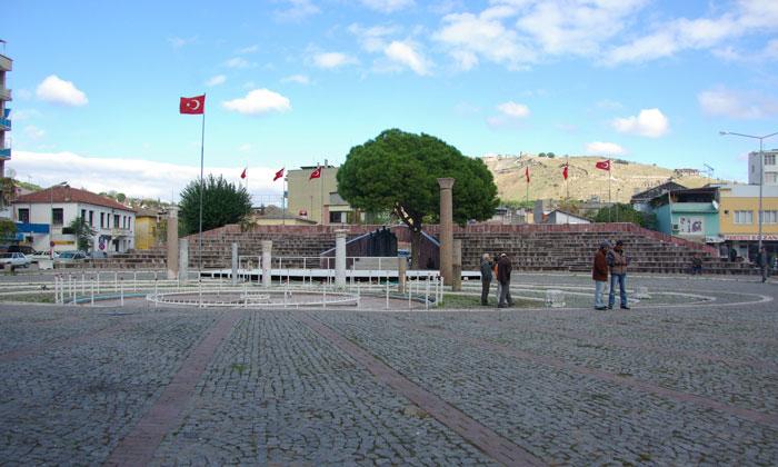 Городская площадь Бергамы