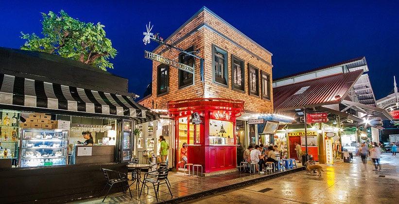 Ночной Бангкок (рынок Harbour)