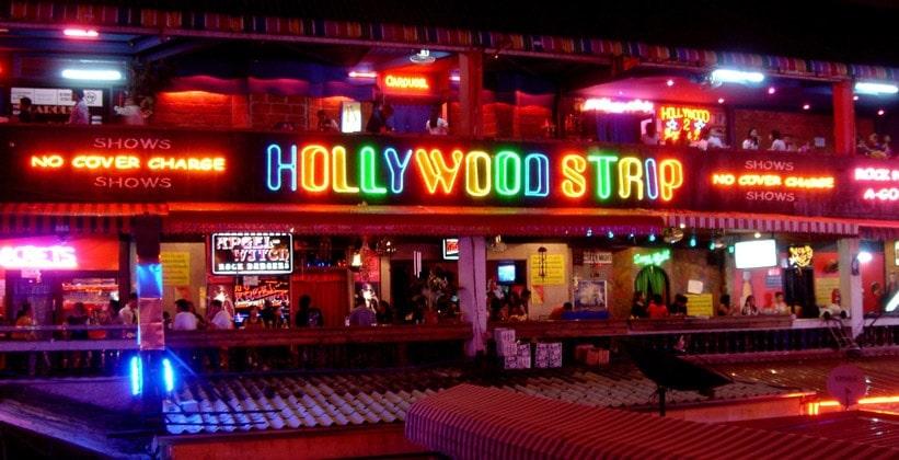 Ночное заведение Hollywood Strip в Бангкоке