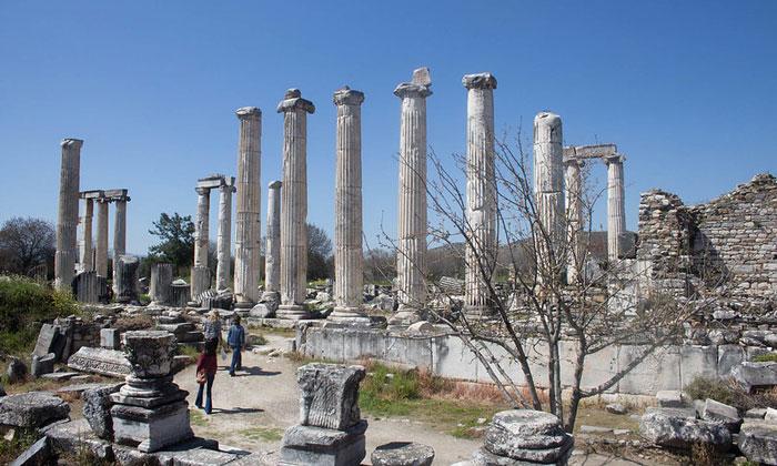 Остатки храма Афродиты