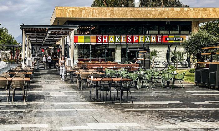 Кафе-бистро «Shakespeare» в Анталии